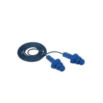 Imagen de Tapón auditivo reutilizable con metal detectable